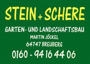 Stein + Schere